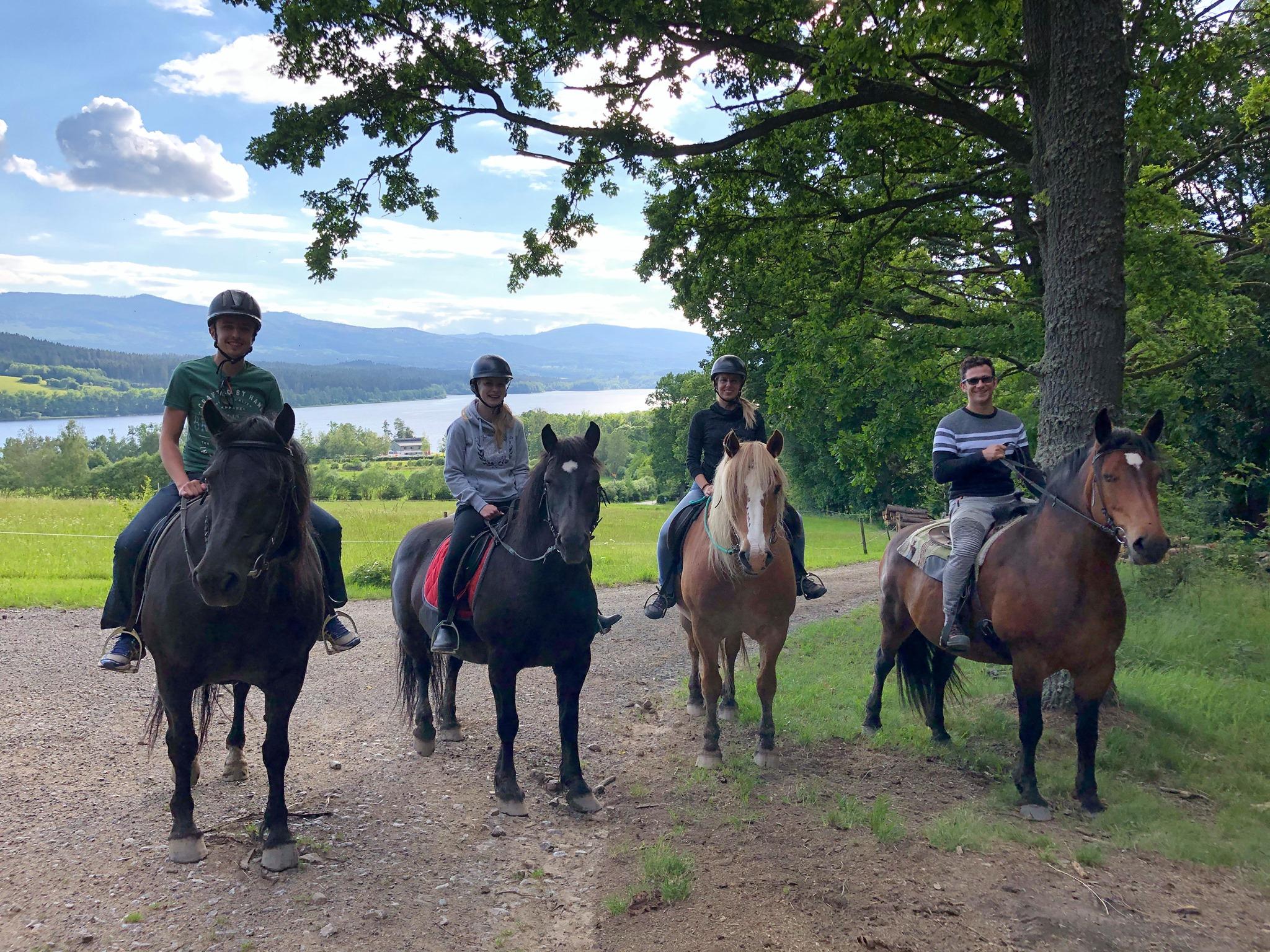 Vyjížďky na koních – Ranč u Kukačků